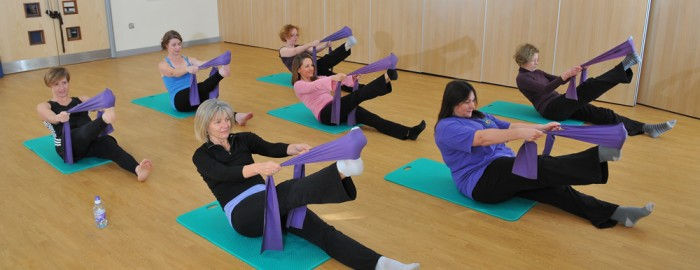 Intermediate pilates class in twickenham